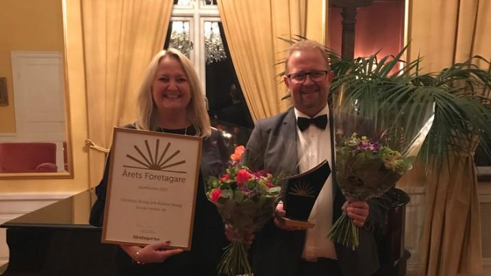 Skoogs utsedda till Årets Företagare i Norrbotten